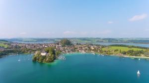 Blick auf Mattsee am Wallersee_Salzburger Seenland