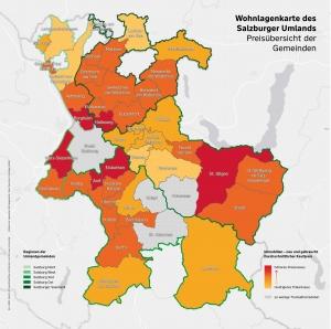 Preisüberblick Salzburg-Umgebung 2020