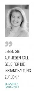 Zitat Elisabeth Rauscher, Team Rauscher Immobilien