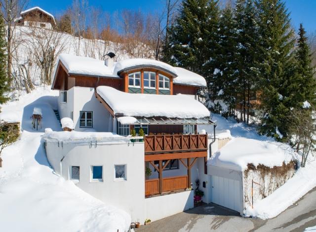 Architektenhaus Bergkulisse